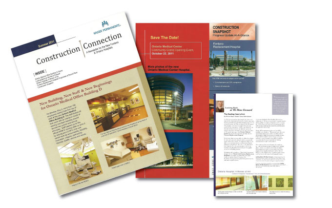kaiser permanente newsletters from perry design and advertising - image