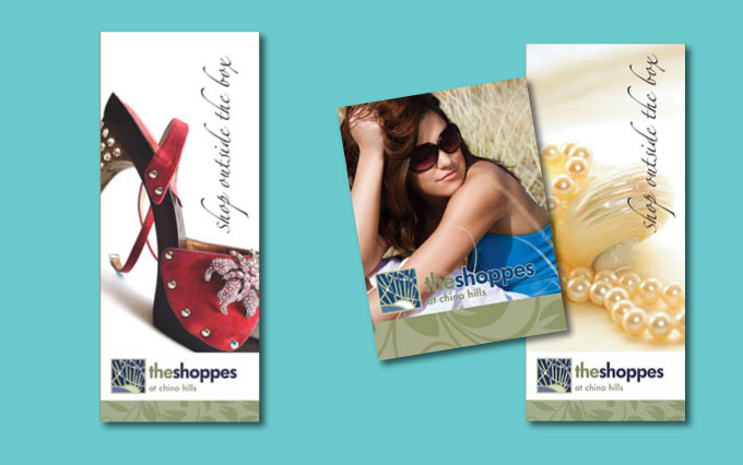 the shoppes at chino hills outdoor banners and signage from perry design and advertising - image