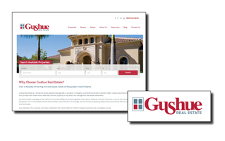 Gushue Real Estate Website Perry Advertising